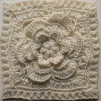 Mayapple Flower Square ~ Marie Segares - Underground Crafter