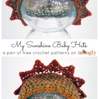 My Sunshine Baby Hats ~ Moogly