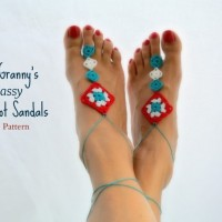 Not Granny's Sassy Barefoot Sandals ~ Celina Lane – Simply Collectible