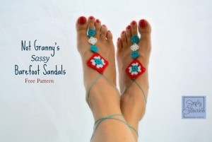 Not Granny's Sassy Barefoot Sandals ~ Celina Lane - Simply Collectible
