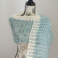 Ocean Breeze Light Summer Wrap ~ The Stitchin' Mommy – Stitch & Unwind