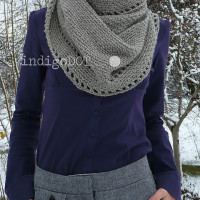 Calm Cowl ~ indigoDOT designs