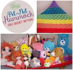 The Perfect Rainbow Pet Net Hammock ~ Stitch11