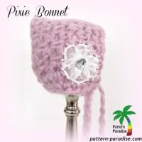Pixie Bonnet ~ Pattern Paradise