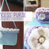 Princess Purse ~ Rebecca Langford - Little Monkeys Crochet