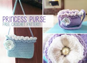 Princess Purse ~ Rebecca Langford - Little Monkeys Crochet