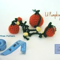 Lil Pumpkin Patch Amigurumi ~ Celina Lane – Simply Collectible