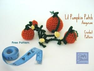 Lil Pumpkin Patch Amigurumi ~ Celina Lane - Simply Collectible