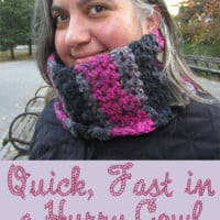 Quick, Fast in a Hurry Cowl ~ Marie Segares – Underground Crafter