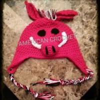 Hog Beanie ~ American Crochet