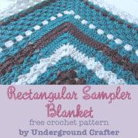 Rectangular Sampler Blanket ~ Marie Segares – Underground Crafter