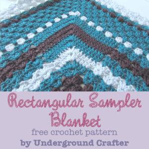 Rectangular Sampler Blanket ~ Marie Segares - Underground Crafter