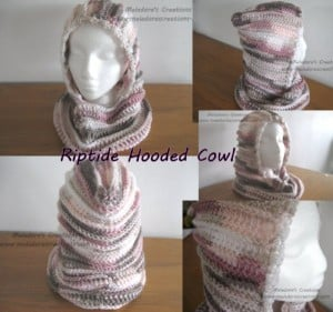 Riptide Hooded Cowl ~ Meladora's Creations