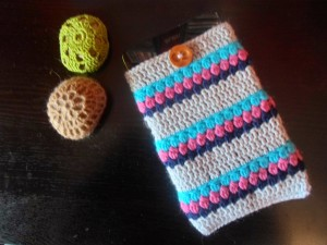 Puff.Puff: Easy Crochet Tablet Cozy ~ The Anarchist Knitter