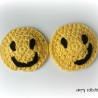 Smiley Applique or Coaster ~ Celina Lane – Simply Collectible
