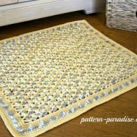 Soothing Pebbles Rug ~ Pattern Paradise
