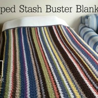Striped Stash Buster Blanket ~ Celina Lane -Simply Collectible