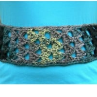 Triangle Stitch Belt ~ Creative Threads by Leah – Cre8tion Crochet