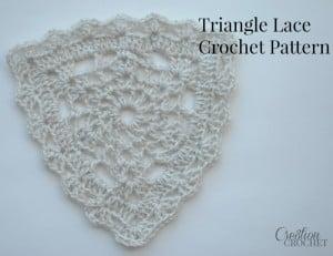 Triangle Lace ~ Lorene Eppolite - Cre8tion Crochet