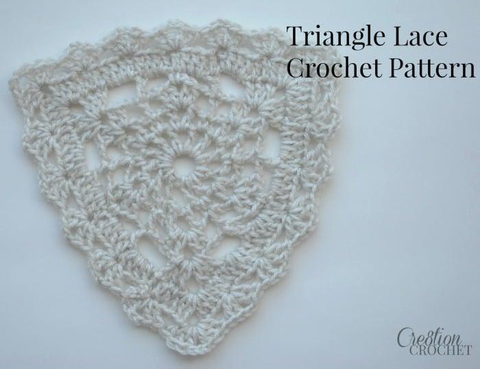 Triangle Lace Free Crochet Pattern