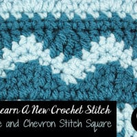 Wave and Chevron Stitch ~ Oombawka Design