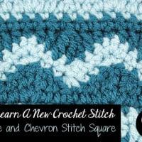 Wave and Chevron Stitch ~ Oombawka Design