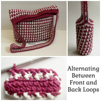 Alternating Between Front and Back Loops ~ Rhelena – CrochetN'Crafts