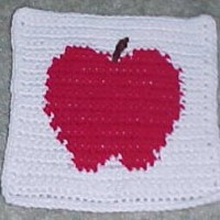 Apple Afghan Square ~ Crochet N More
