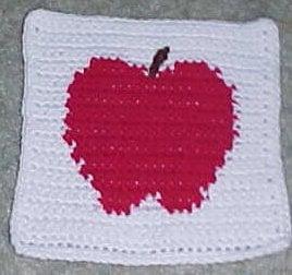 Apple Afghan Square ~ Crochet N More