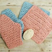 Baby Crochet Bath Set ~ Petals to Picots