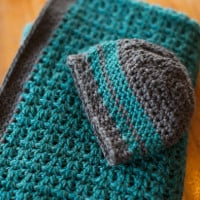 Baby Blanket and Hat ~ The Firefly Hook