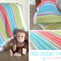 My First Baby Blanket ~ Rebecca Langford - Little Monkeys Crochet
