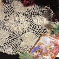 Christmas Bell Doily ~ MomsLoveOfCrochet