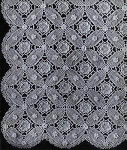 Wedding Ring Bedspread Pattern ~ Free Vintage Crochet