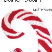 Christmas Candy Cane Scarf ~ Craftbits