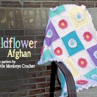 Wildflower Afghan ~ Rebecca Langford - Little Monkeys Crochet