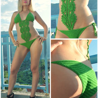 Crochet Swimsuit ~ Jane Green - Beautiful Crochet Stuff