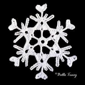 Sababah Snowflake ~ Crochet Treasures