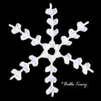 Wedad Snowflake ~ Crochet Treasures