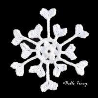 Morna Snowflake ~ Crochet Treasures