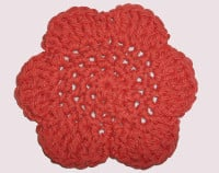 Fresh Floral face Cloth ~ Candace - Crochet Spot