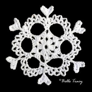 Ashiba Snowflake ~ Crochet Treasures