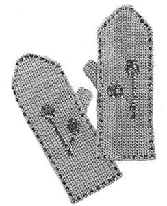 Ladies Mittens ~ Free Vintage Crochet