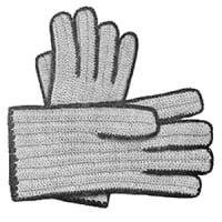 Ladies Crochet Gloves ~ Free Vintage Crochet