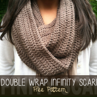 Double Wrap Infinity Scarf ~ Rebecca Langford - Little Monkeys Crochet