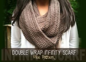 Double Wrap Infinity Scarf ~ Rebecca Langford - Little Monkeys Crochet