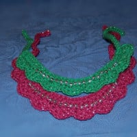 Beaded Dog Collar ~ Sara Sach - Posh Pooch Designs