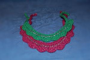 Beaded Dog Collar ~ Sara Sach - Posh Pooch Designs