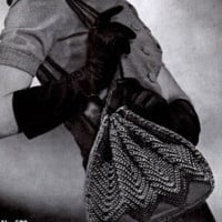Gypsy Bag ~ Free Vintage Crochet