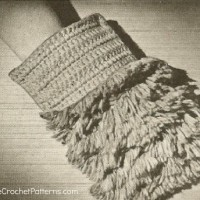 Dust Mitt ~ Antique Crochet Patterns